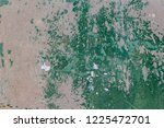 green metal plate with concrete ...   Shutterstock . vector #1225472701