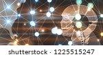conceptual technology... | Shutterstock .eps vector #1225515247