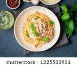Carbonara Pasta. Spaghetti With ...