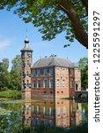 castle 'bouvigne' located south ...   Shutterstock . vector #1225591297