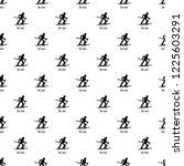 ski race pattern seamless... | Shutterstock .eps vector #1225603291