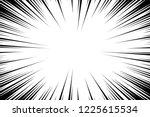 comic book radial lines... | Shutterstock .eps vector #1225615534