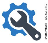 tools  wrench icon | Shutterstock .eps vector #1225617217