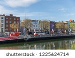 ireland dublin street 2018 | Shutterstock . vector #1225624714