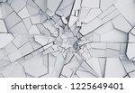 abstract 3d rendering of... | Shutterstock . vector #1225649401
