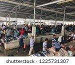 kota kinabalu  sabah  october... | Shutterstock . vector #1225731307