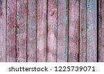 old wooden fence background ... | Shutterstock . vector #1225739071