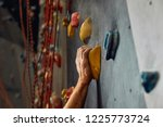 climber s male hands covered... | Shutterstock . vector #1225773724