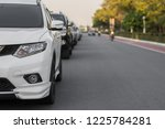 car on the road  | Shutterstock . vector #1225784281