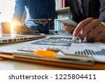 business team present....   Shutterstock . vector #1225804411
