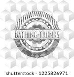 bathing trunks realistic grey...   Shutterstock .eps vector #1225826971