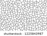 the cracks texture white and... | Shutterstock .eps vector #1225843987