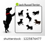 collection or set of... | Shutterstock .eps vector #1225876477