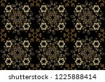 line art seamless border for... | Shutterstock . vector #1225888414