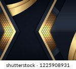 abstract 3d background with...   Shutterstock .eps vector #1225908931