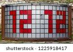 1930s rotating tile digital... | Shutterstock . vector #1225918417
