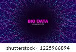 futuristic portal concept. big... | Shutterstock .eps vector #1225966894
