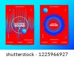 electronic night party... | Shutterstock .eps vector #1225966927