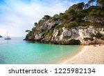 menorca  spain   june 29  2018  ...   Shutterstock . vector #1225982134