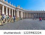 rome  vatican state   august 24 ...   Shutterstock . vector #1225982224