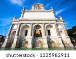 the fontana dell'acqua paola...   Shutterstock . vector #1225982911