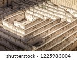 labyrinth made of stone ...   Shutterstock . vector #1225983004