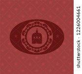 bottle of alcohol icon inside... | Shutterstock .eps vector #1226004661