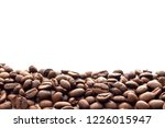 roasted coffee beans for... | Shutterstock . vector #1226015947