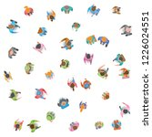 vector background. a group of... | Shutterstock .eps vector #1226024551