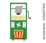 a popcorn machine for... | Shutterstock .eps vector #1226027524