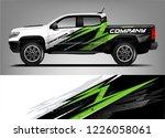 truck wrap. truck company...   Shutterstock .eps vector #1226058061