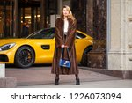 portrait of a full length young ... | Shutterstock . vector #1226073094