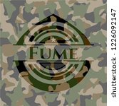 fume on camouflage pattern   Shutterstock .eps vector #1226092147