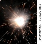 sparkle cracker celebration... | Shutterstock . vector #1226094811