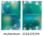 star card set | Shutterstock .eps vector #1226132194