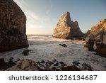 beach of portugal   Shutterstock . vector #1226134687