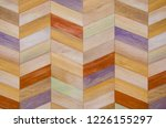 vintage painting color on piece ...   Shutterstock . vector #1226155297