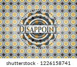 disappoint arabic badge... | Shutterstock .eps vector #1226158741