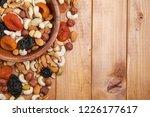 natural nutritious mix of... | Shutterstock . vector #1226177617