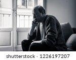 senior old man feeling... | Shutterstock . vector #1226197207