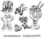 new year merchandise | Shutterstock .eps vector #1226212474