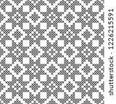 cross stitch  seamless...   Shutterstock .eps vector #1226215591