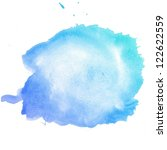 colorful abstract water color...   Shutterstock . vector #122622559