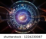 background of fractal elements  ... | Shutterstock . vector #1226230087