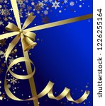 vector christmas   new year's... | Shutterstock .eps vector #1226255164
