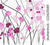 Red Roses  Illustration With...