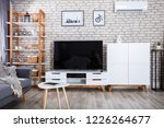 interior of a living room with... | Shutterstock . vector #1226264677