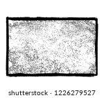 grunge frame.grunge black frame....   Shutterstock . vector #1226279527