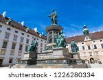 monument to emperor franz i at... | Shutterstock . vector #1226280334