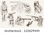 compilation of vector... | Shutterstock .eps vector #122629444